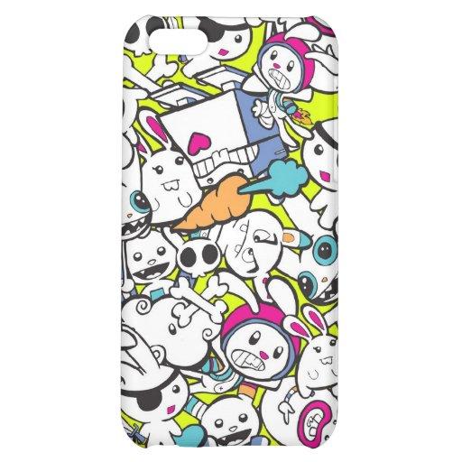 toy_art_bunny_stamp_II_by_mariliawonka Case For iPhone 5C