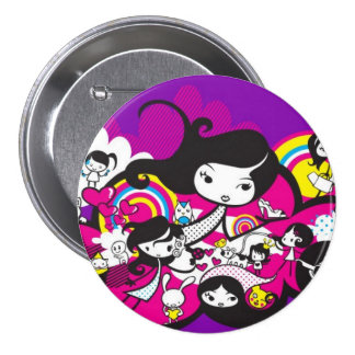 Toy_art_by_mariliawonka 7.5 Cm Round Badge
