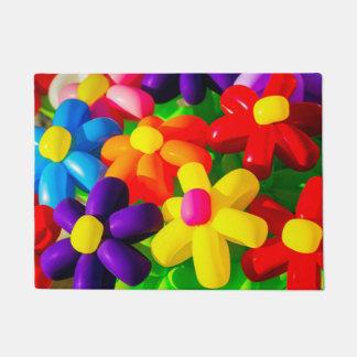 Toy Balloon Flowers Doormat