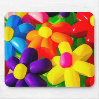 Toy Balloon Flowers Mouse Pad