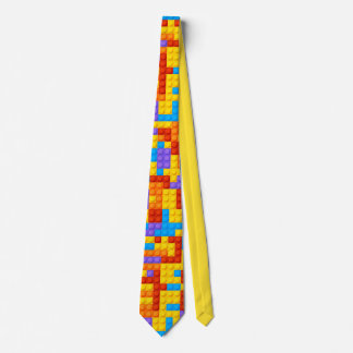 Toy Blocks and a Tie