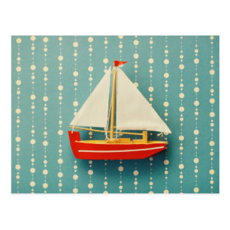 Toy Boat Postcard