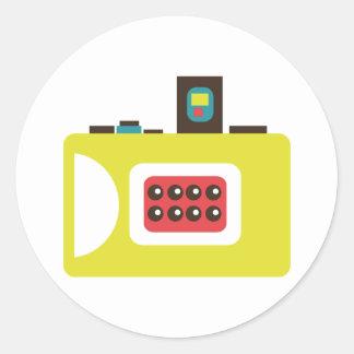Toy Camera (Super S) Round Sticker