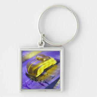 Toy car keychains