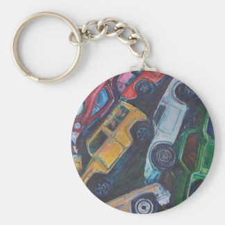 Toy Car Painting Keychain
