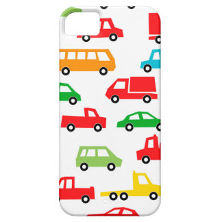toy car pattern - automobile illustration iPhone 5 cases