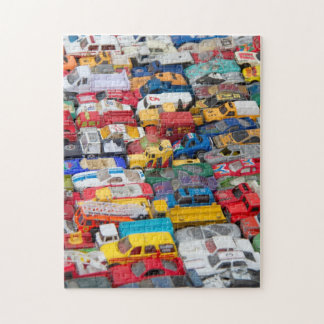 Toy Cars and Trucks Puzzle