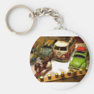 """""""Toy cars"""" Basic Round Button Key Ring"""