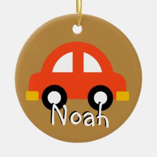 Toy cars custom ornament