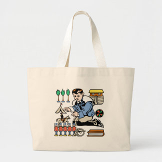 Toy Collector Jumbo Tote Bag