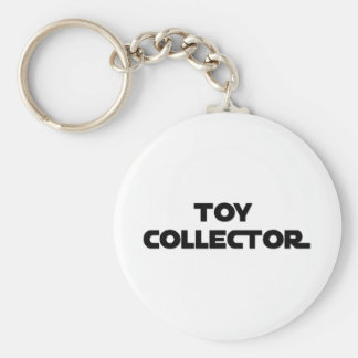 Toy Collector (Science Fiction) Basic Round Button Key Ring