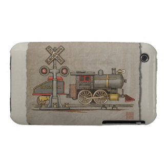 Toy Electric Train iPhone 3 Case-Mate Cases
