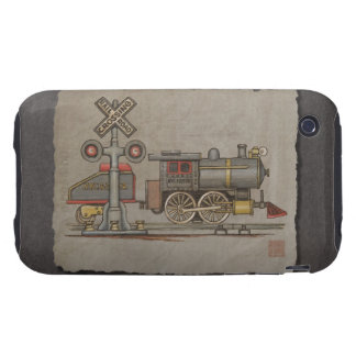 Toy Electric Train Tough iPhone 3 Cover