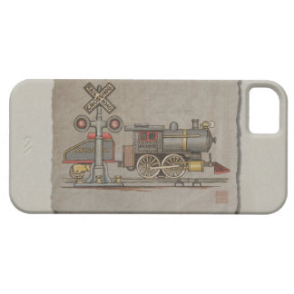 Toy Electric Train Case For iPhone 5/5S