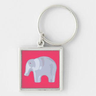 Toy Elephant Bubble Keychain