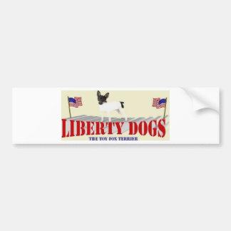 Toy Fox Terrier Bumper Sticker