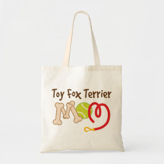 Toy Fox Terrier Dog Breed Mom Gift Tote Bag