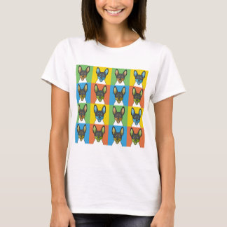 Toy Fox Terrier Dog Cartoon Pop-Art T-Shirt