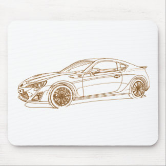 Toy GT86 2013 Mouse Pad