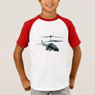 Toy Helicopter image for boy's-t-shirt T-Shirt