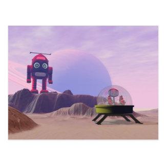 Toy Moon Walker Scene Postcard