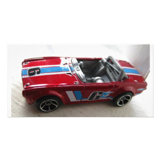 Toy Muscle Car Customised Photo Card