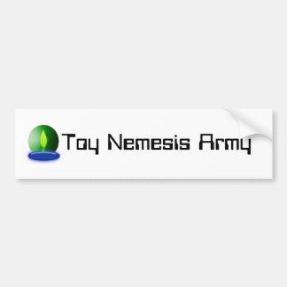 Toy Nemesis Army Bumper Sticker