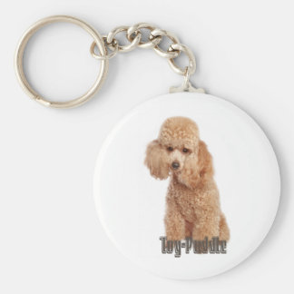 toy poodle breeds basic round button key ring