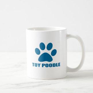 TOY POODLE DOG DESIGNS COFFEE MUG