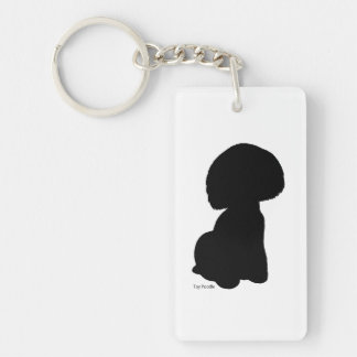 Toy poodle key holder toy poodle keychain