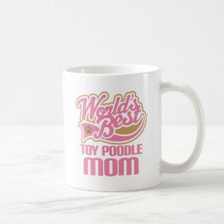 Toy Poodle Mom Dog Breed Gift Basic White Mug