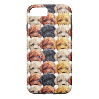 Toy poodle Original painting and design by miart iPhone 8/7 Case