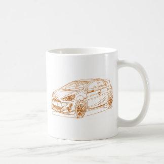 Toy Prius C 2017 Coffee Mug