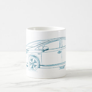 Toy Prius Gen3 2010+ Coffee Mug