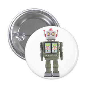 Toy Robot 3 Cm Round Badge