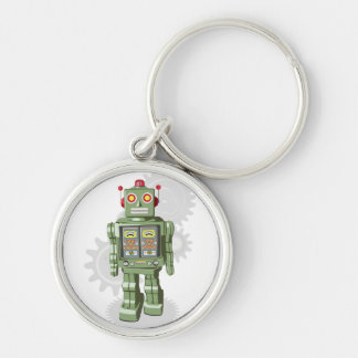 Toy Robot Keychain