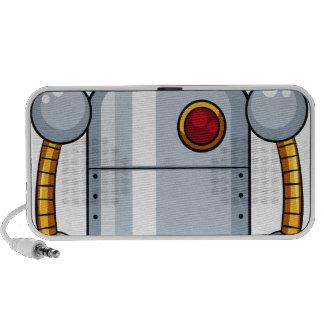 Toy robot mini speakers