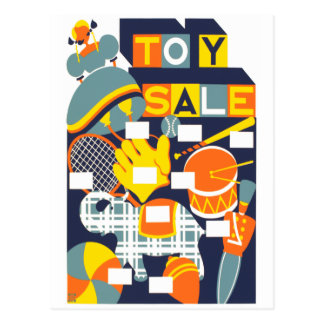 Toy Sale Postcard