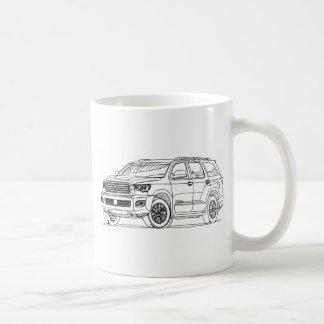 Toy Sequoia 2017 TRD Sport Coffee Mug