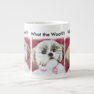 TOY SHIH TZU MIX LARGE COFFEE MUG