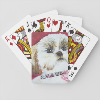 TOY SHIH TZU PLAYING CARDS