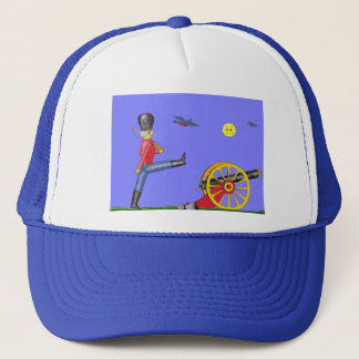 Toy Soldier and Toy Cannon...Hat. Trucker Hat