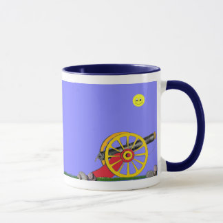 Toy Soldier and Toy Cannon...Mug. Mug