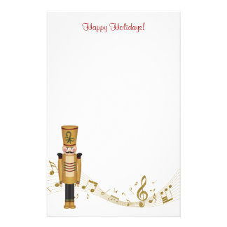 Toy Soldier Christmas Stationery