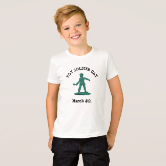 Toy Soldier Day Holidays March 4th Boy's Shirt