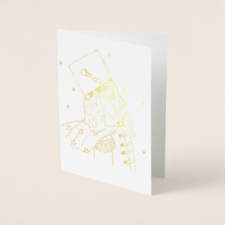 Toy Soldier in Gold Foil Foil Card