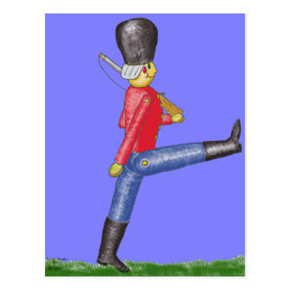Toy Soldier Postcard
