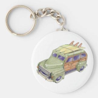 Toy Surf Car Keychain