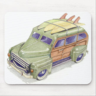 Toy Surf Car Mousepad