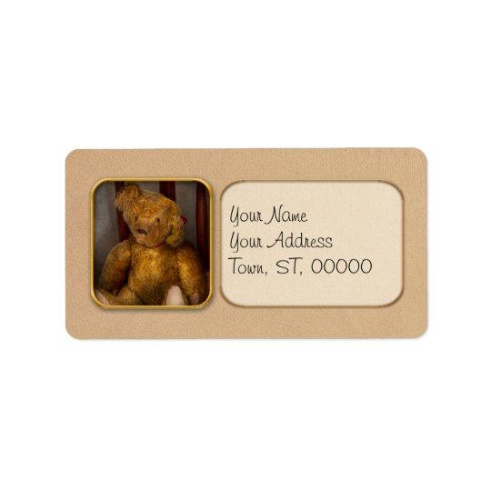 Toy - Teddy Bear - My Teddy Bear Address Label
